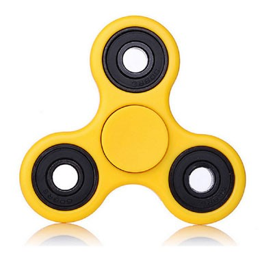 Fidget Spinner basic - geel