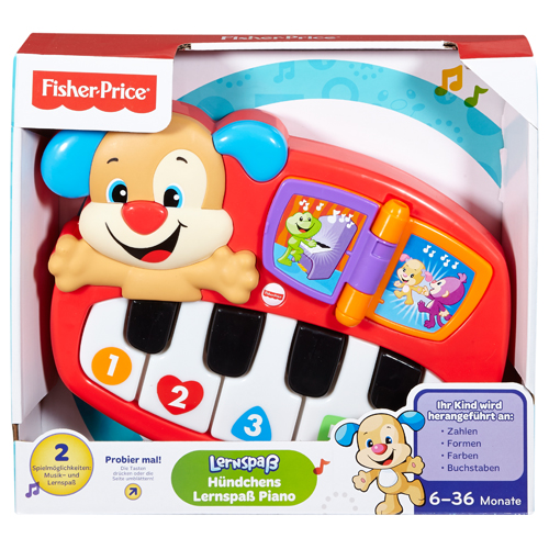Fisher Price Leerplezier Puppy Piano