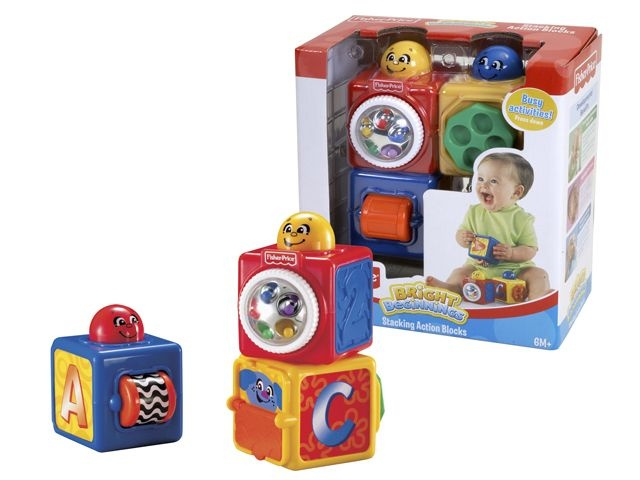 Fisher Price Stacking Action Blocks Stapel Blokken