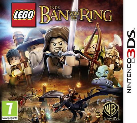 Game, 3DS,  , In de ban van de Ring