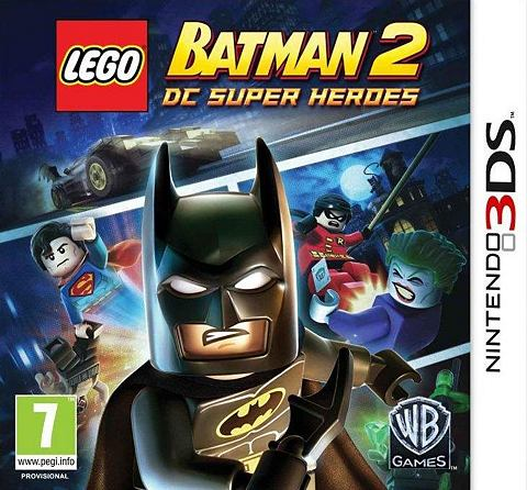Game, 3DS, LEGO Batman 2, DC Superheroes