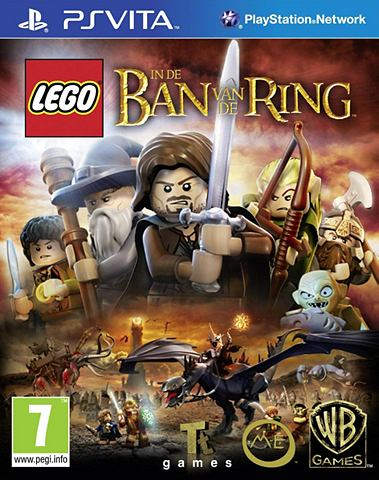 Game, PS Vita, LEGO, In de ban van de Ring