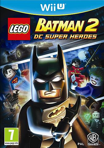 Game, Wii U, LEGO Batman 2, DC Superheroes