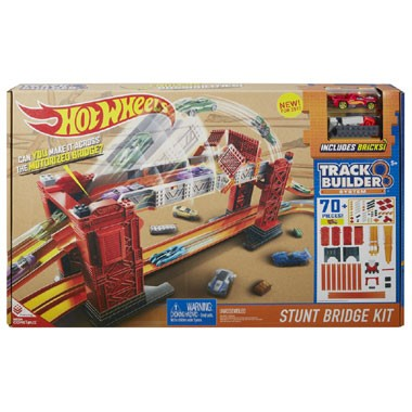 Track Builder stuntbrug set