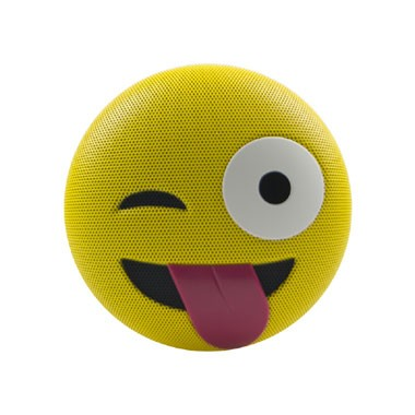 JAMOJI Winking Tongue Out Bluetooth Speaker