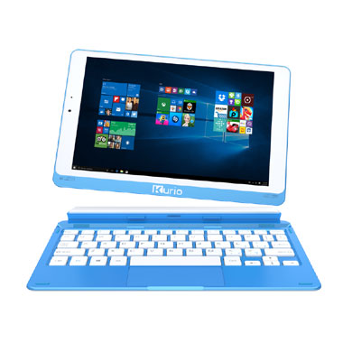 Kurio Smart 2-in-1 tablet laptop - 9 inch - blauw