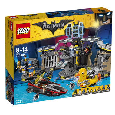 LEGO Batman Movie Batcave inbraak 70909