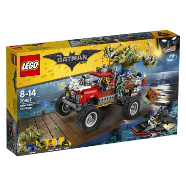 LEGO   Killer Croc monstertruck 70907