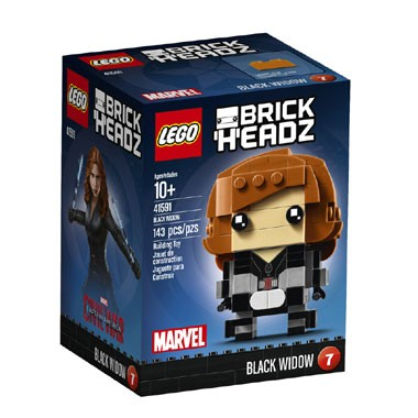 LEGO 41591 Brickheadz Black Widow nr 7