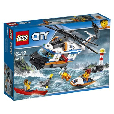 60166 LEGO City kustwacht zware reddingshelikopter