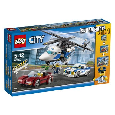 66550 LEGO City politie 3-in-1 set