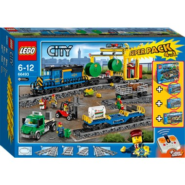 LEGO City treinen valuepack 66493