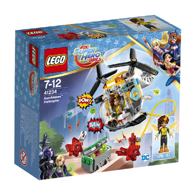 LEGO DC Comics Super Hero Girls Bumblebee helikopter 41234