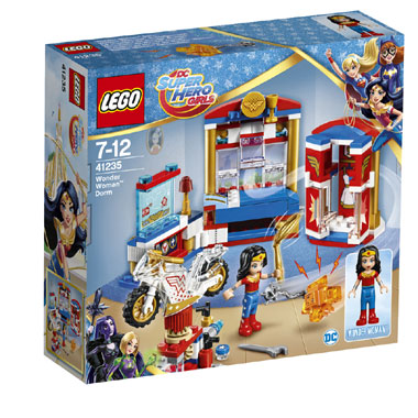 LEGO DC Comics Super Hero Girls Wonder Woman nachtverblijf 41235
