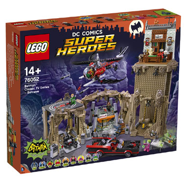 LEGO DC Comics Super Heroes Batman Classic TV-series Batcave 76052