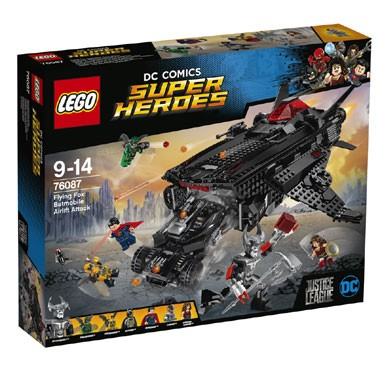 76087 LEGO DC Comics Super Heroes Flying Fox Batmobile luchtbrugaanval