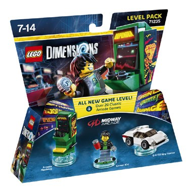 LEGO Dimensions Midway Arcade Level Pack 71235