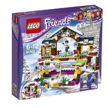 41322 LEGO Friends wintersport ijsbaan