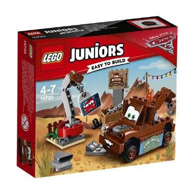 LEGO Juniors Disney Cars Takels sloopterrein 10733