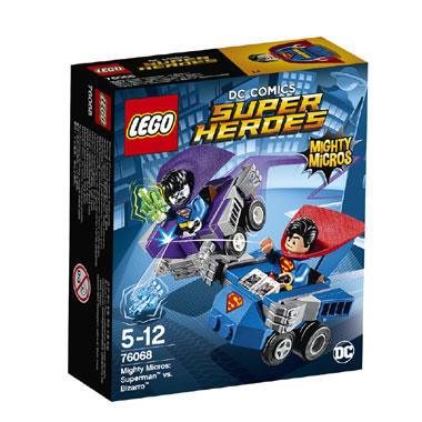 LEGO Marvel Super Heroes Mighty Micros: Superman vs. Bizarro 76068