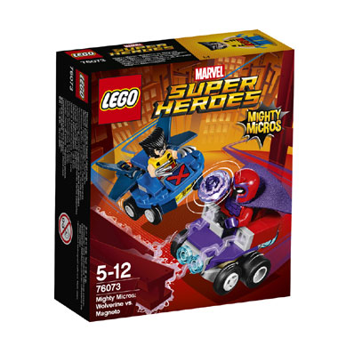 LEGO Marvel Super Heroes Mighty Micros: Wolverine vs. Magneto 76073