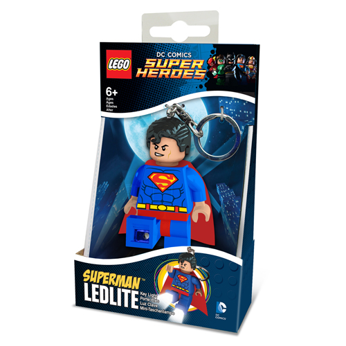 LEGO Sleutelhanger + Lamp Superman