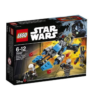 75167 LEGO Star Wars Bounty Hunter Speeder Bike Battle Pack