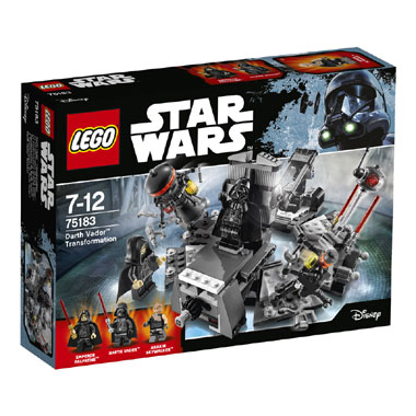 75183 LEGO Star Wars Darth Vader transformatie