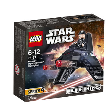 LEGO Star Wars Krennics Imperial Shuttle Microfighter 75163