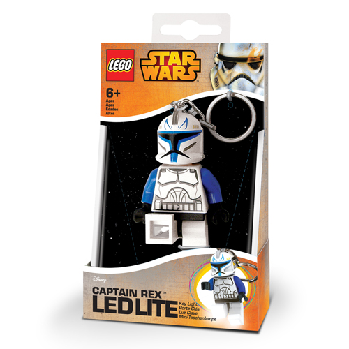 LEGO Star Wars Sleutelhanger + Lamp Captain Rex