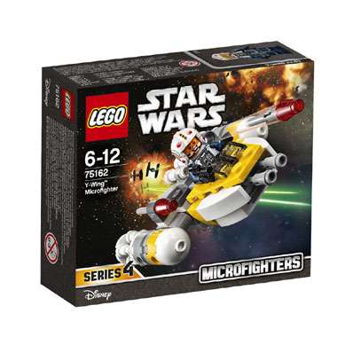 LEGO Star Wars Y-Wing Microfighter 75162