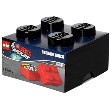 LEGO The Movie Brick opbergbox 4 - zwart