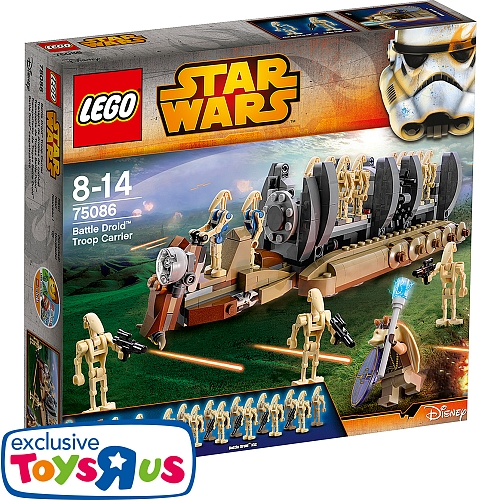 Lego star wars - 75086 battle droid troop transport