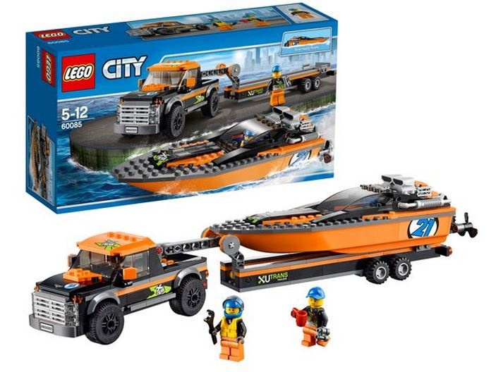 Lego City: 4x4 Speedboot (60085)