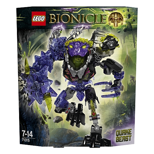 Lego bionicle - 71315 aardschokbeest
