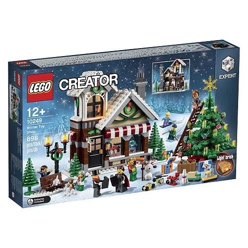 Lego creator - 10249 winter speelgoedwinkel