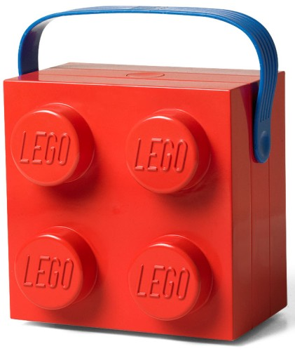 Lego lunchkoffer rood