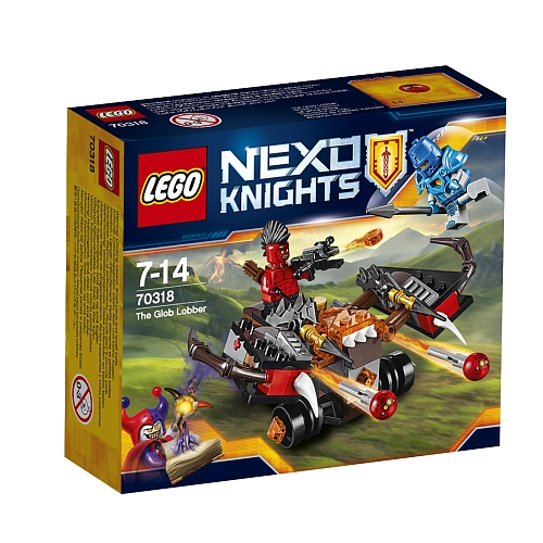 Lego nexo knights - 70318 the glob lobber