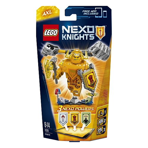 Lego nexo knights - 70336 ultimate axl
