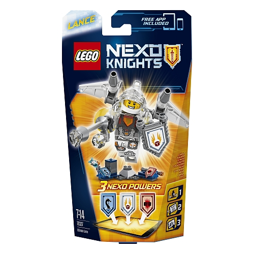 Lego nexo knights - 70337 ultimate lance