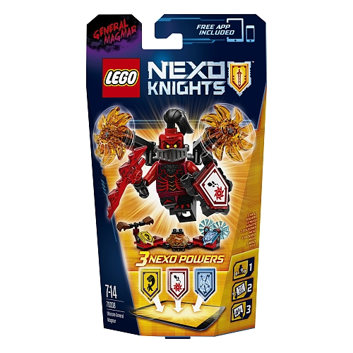 Lego nexo knights - 70338 ultimate general magmar
