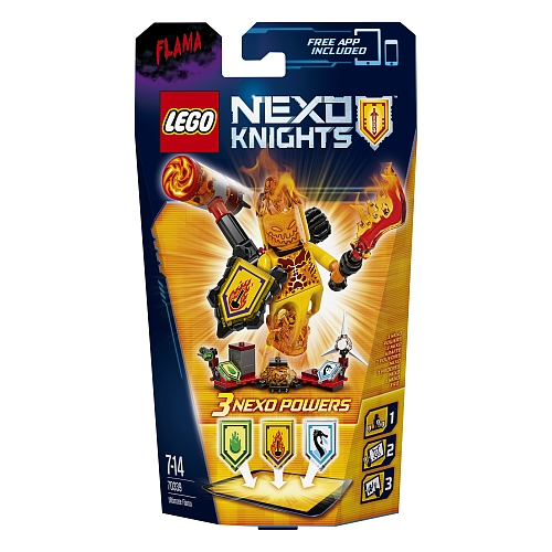 nexo knights - 70339 ultimate flama