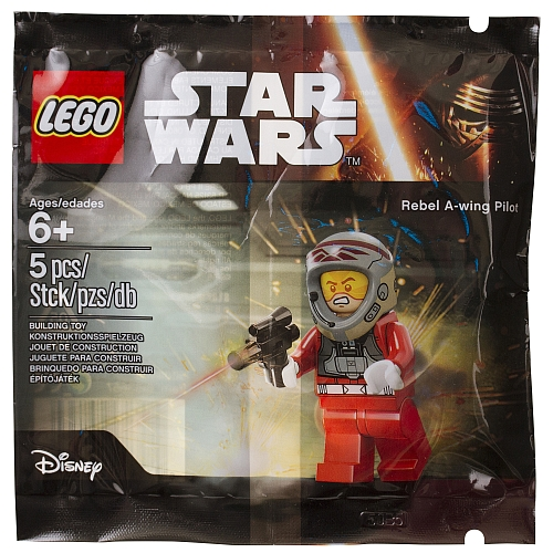 Lego star wars - 5004408 rebel a-wing pilot