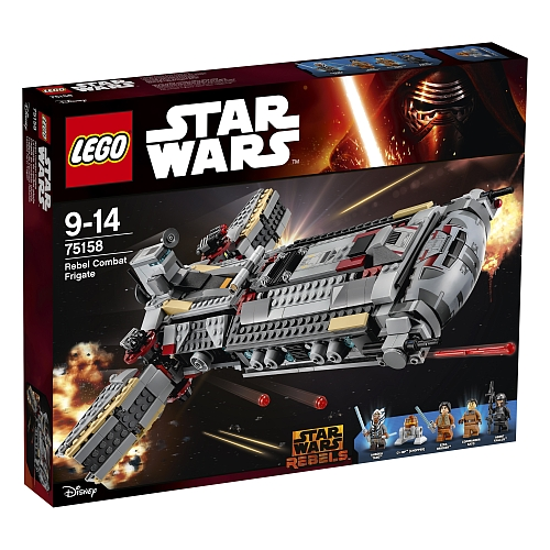 Lego star wars - 75158 rebel combat frigate
