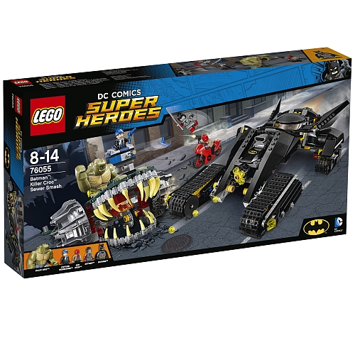 Lego super heroes - 76055 batman: killer croc, sewer smash