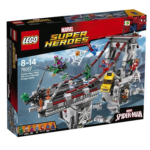 Lego super heroes - 76057 spider-man: web warriors ultimate bridge battle