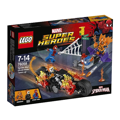 Lego super heroes - 76058 spider-man: ghost rider team-up