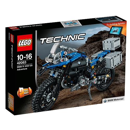 Lego technic - 42063 bmw r1200 gs adventure