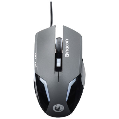 GM-105 Wired Gaming Muis 2400dpi - Zwart