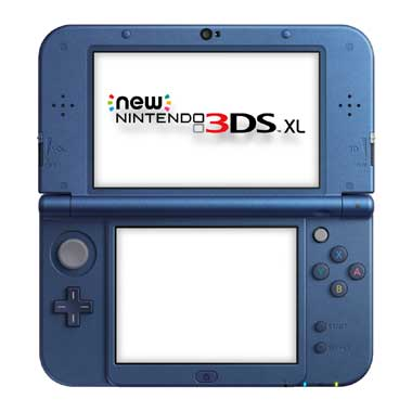 3DS XL Blauw/Metallic